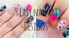 5 easy nail art designs for beginners nail art without