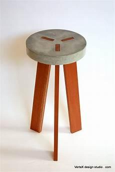 y concrete stool