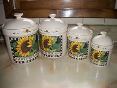 sunflower canisters for kitchen susan winget sunflower canisters my kitchen remodel