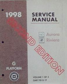chilton car manuals free download 1998 oldsmobile aurora security system 1998 oldsmobile aurora and buick riviera g platform service manual 3 volume set