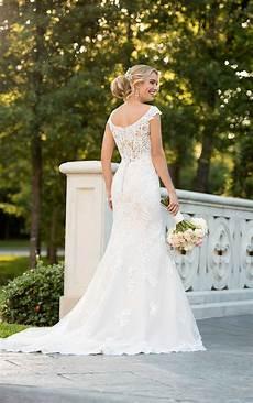 modern wedding gowns modern lace mermaid wedding dress stella york wedding gowns