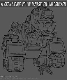 Gratis Malvorlagen Dino Trucks Dinotrux 3 Ausmalbild