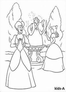 Kostenlose Malvorlagen Cinderella Cinderella Ausmalbilder Color Me Sketches