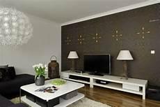 Ideen F 252 R Wohnzimmer Tapeten