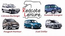 kangoo ou berlingo redcote leisure micro cer kangoo doblo berlingo and partner