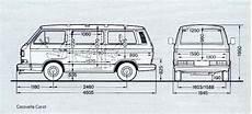 Vanagon Dimensions Vw Syncro Design Volkswagen Type 3