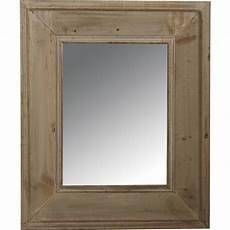miroir en bois blanc vieilli nmi1330v aubry gaspard