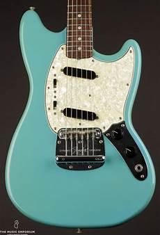 fender mustang blue 1966