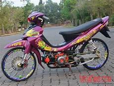 Warna Jupiter Z by Jupiter Z Merah Marun Modif Thailook Style Vegafans