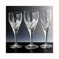 de verre prix verres en cristal x6