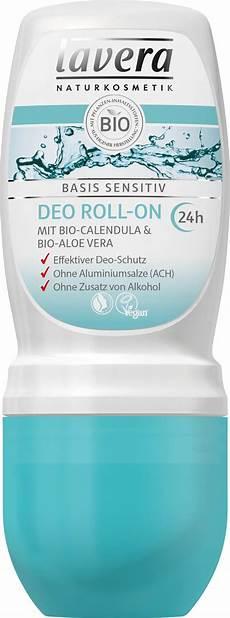 lavera basis sensitiv shoo lavera basis sensitiv deodorant roll on 50 ml ecco