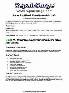 how to download repair manuals 1990 suzuki swift regenerative braking suzuki swift online repair manual for 1990 1991 1992 1993 1994 1995 1996 1997 1998 1999