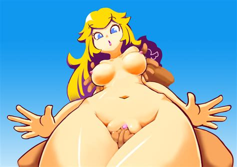Super Mario Peach Nude