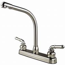 rv kitchen faucets rv mobile home travel trailer high rise kitchen sink faucet stainless steel walmart