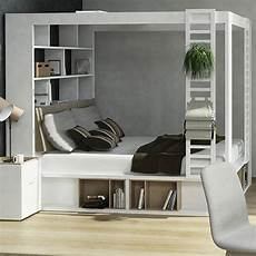 futon with storage four poster king bed with storage and shelves in white by