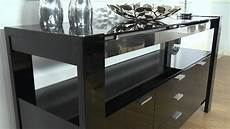 cannes black high gloss sideboard ofstv