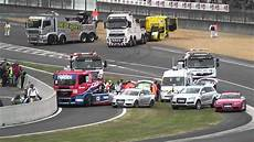 24 heures camions 24 heures du mans camions 2011 crash et best of