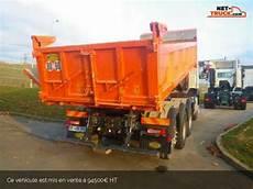 camion porteur volvo fm bibenne tribenne fmx 450 tridem