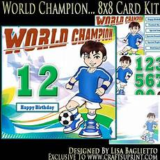 kti8x8 world chion any age 8x8 card kit cup614535 614
