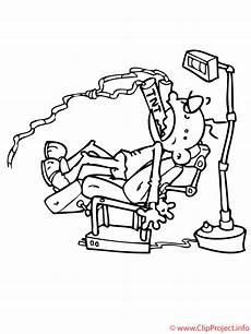 Kostenlose Malvorlagen Zahnarzt Beim Zahnarzt Malvorlage Gratis
