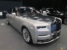 rolls royce car the new rolls royce phantom in canadian premiere car