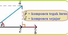 Komponen Vektor Yang Tegak Lurus Terhadap Vektor Konsep