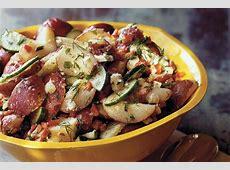 dilled potato salad with feta image