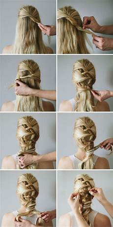 15 simple step by step hairstyles