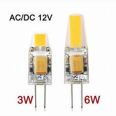 g4 led 12v ac dc cob light 3w 6w high quality led g4 cob