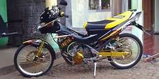 Modifikasi Satria Fu 2014 Simple by Gambar Modifikasi Motor Satria Fu 150 Simple Keren