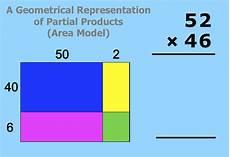 multiplication worksheets area model 4309 multiplication