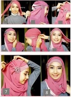 Cara Mudah Memakai Jilbab Segi Empat Cantik Dan Anggun