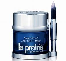 pc review la prairie skin caviar luxe sleep mask pretty