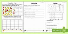 year 2 maths statistics worksheet worksheet year 2 maths homework