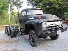 Ex USAF 1956 Ford F700 6x6  Truck Trucks