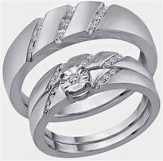 his and hers trio wedding ring sets 500 dollars images