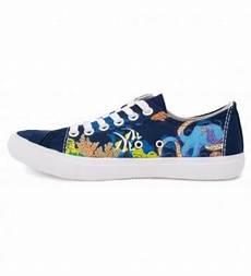 ocean reef sneakers cute fun oceanic octopus fish tennis shoe for men blue