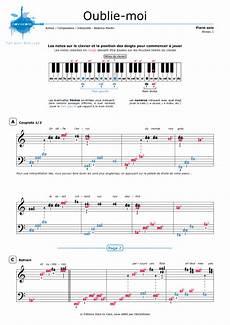 piano sheet music oublie moi coeur de pirate noviscore sheets