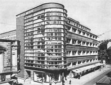 internationaler stil architektur kaufhaus schocken by erich mendelsohn stuttgart 1926