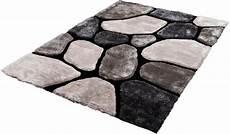teppich steinoptik hochflor teppich 187 stone k11595 171 trend rechteckig h 246 he