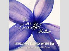 national bereaved mother's day