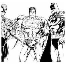 Malvorlagen Far From Home Batman And Superman Coloring Page Superhelden