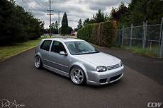 Silver Metallic Vw Golf Mk4 R32 Ccw Lm5t Forged Wheels