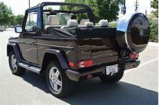 1985 Mercedes G Wagon Convertible G 280 Cabrio For Sale