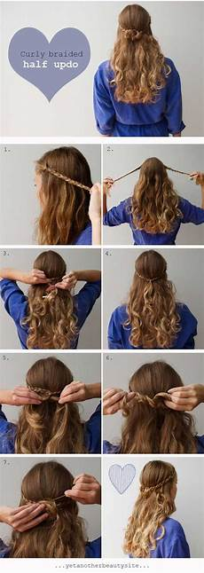 diy curly braided half updo pictures photos and images for facebook pinterest and