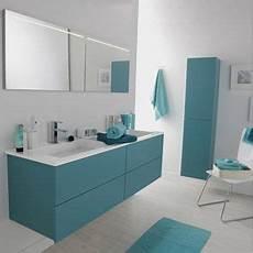 meuble salle de bain bleu meuble de salle de bains cosmo bleu atoll n 176 3 leroy