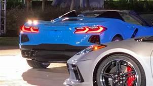 Chevy Corvette C8R Race Car Makes Surprise Appearance In