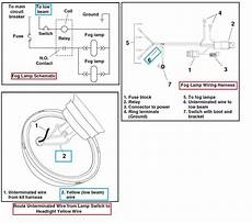 harley headlight wiring diagram harley fog lights wow page 4 harley davidson forums