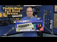 c64syc thec64 maxi full sized c64 review and disassembly youtube