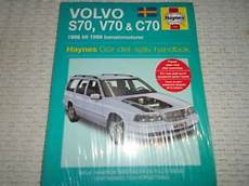 old car owners manuals 1999 volvo s70 spare parts catalogs haynes service repair manual volvo s70 v70 c70 1996 1999 swedish text ebay